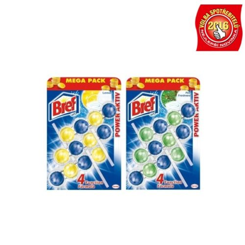 BREF POWER AKTIV LEMON CITRON, OCEAN BREEZE, PINE FRESHNESS