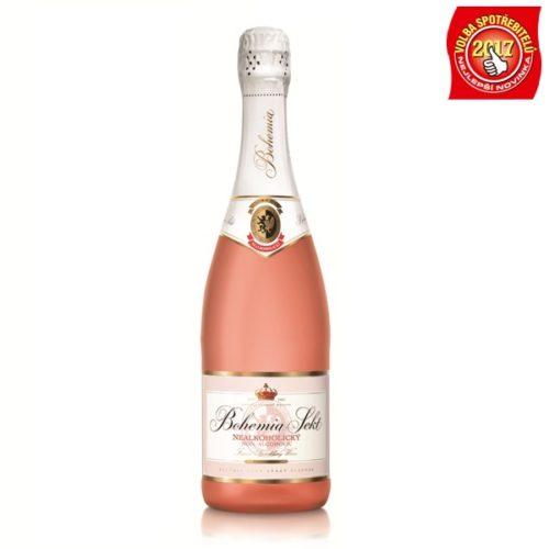 Nealkoholický Bohemia Sekt rosé