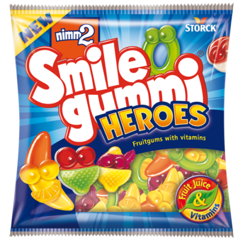nimm2 Smilegummi Heroes 90g