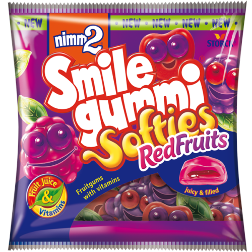 nimm2 Smilegummi Softies Red Fruits