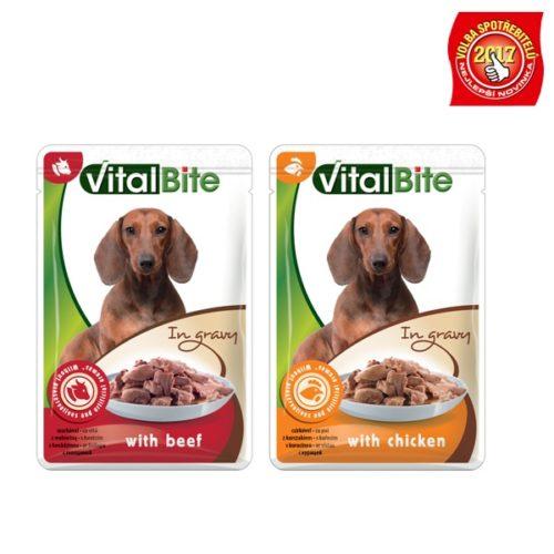 VitalBite dušené filetky pro psy
