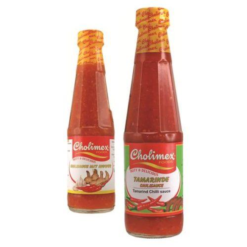 Chilli omáčky Cholimex