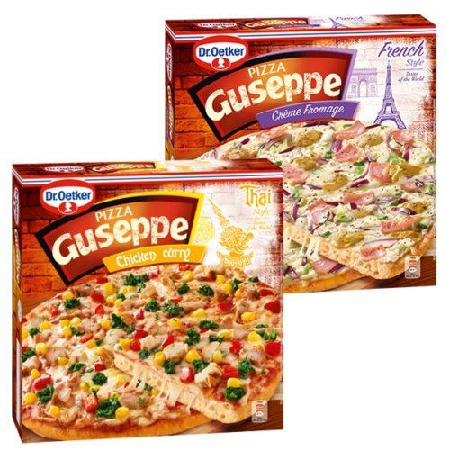 Pizza Guseppe nové příchutě