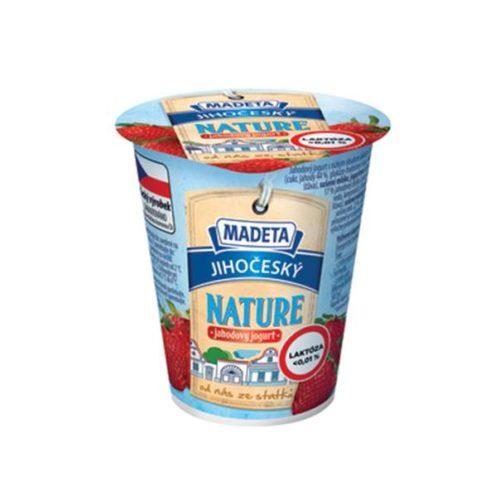 Jihočeský Nature jahodový jogurt laktóza < 0,01%