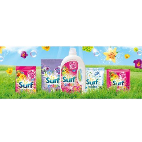 Prací přípravky Surf