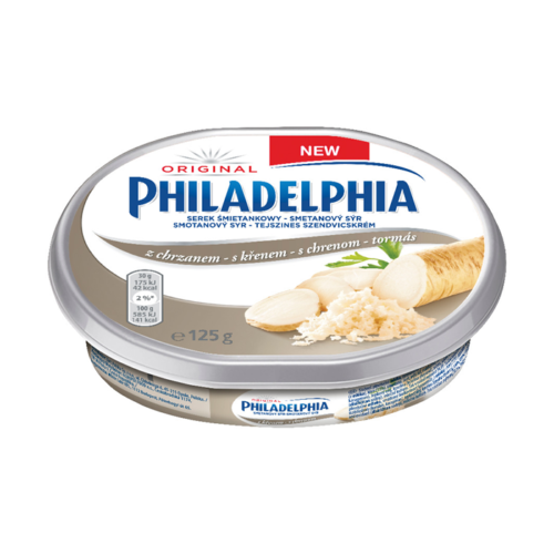 Philadelphia s křenem