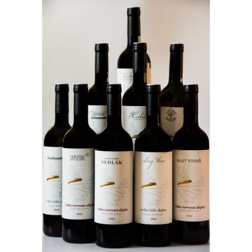 Kolekce vín Velká Slípka