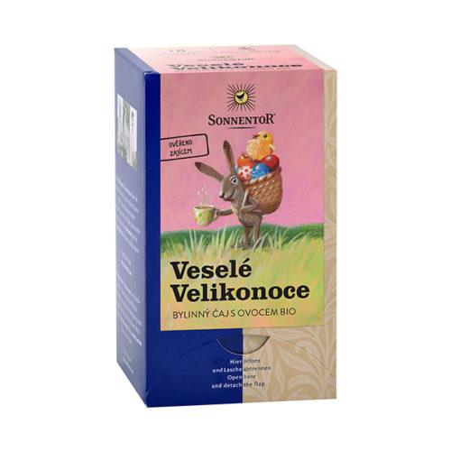 Veselé Velikonoce bylinný čaj s ovocem bio, porcovaný