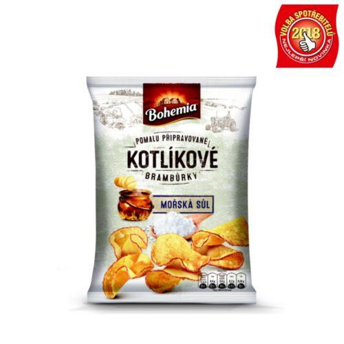 Bohemia Kotlíkové brambůrky – mořská sůl