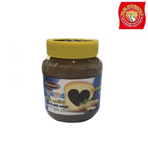 Chocoland Crema arašídová bez palmového oleje