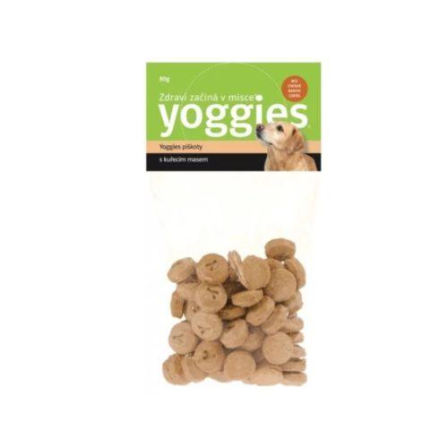 Yoggies originální piškoty s kuřecím masem