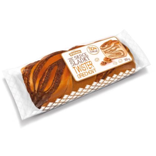 Penam Ze srdce sladký Twister ořechový