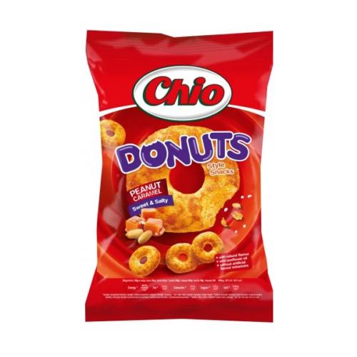 Chio Donuts peanut caramel