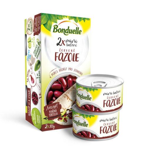 Bonduelle 2x MINI balení červené fazole