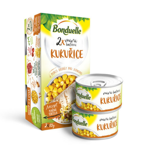 Bonduelle 2x MINI Balení kukuřice