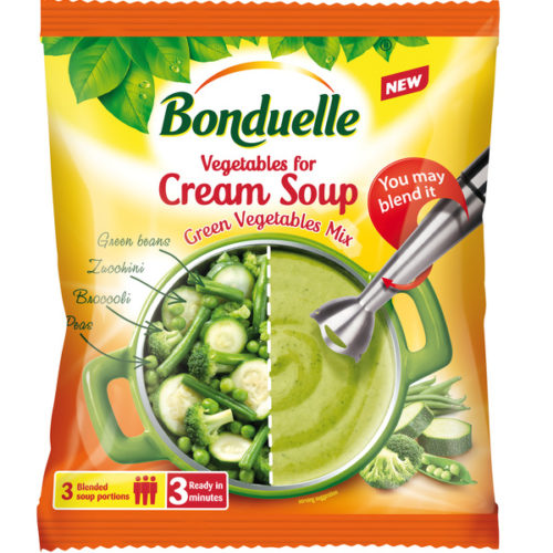 Bonduelle Zelená polévková směs