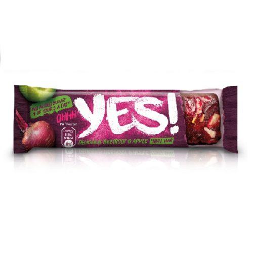 YES! Ovocná tyčinka s jablkem & červenou řepou