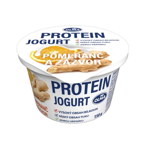 Olma Protein jogurt pomeranč/zázvor