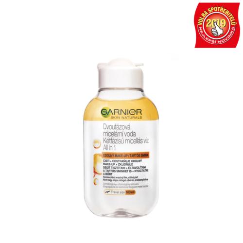 Garnier dvoufázová micelární voda 3v1