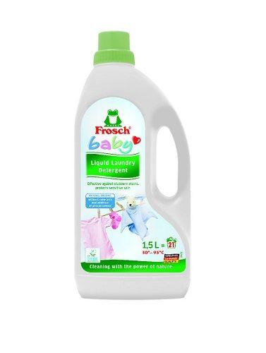 Frosch Hypoalergenní prací prostředek na kojenecké prádlo