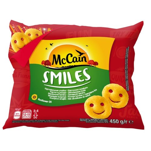 Bramborové smajlíky McCain Smiles