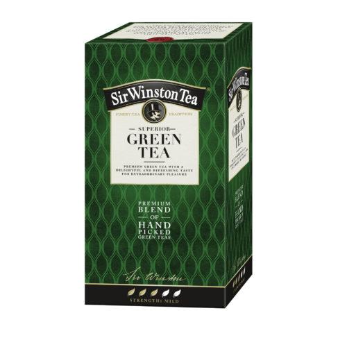 Teekanne zelený čaj Sir Winston Green Tea