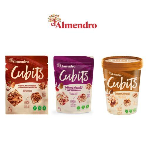 Mandlová svačinka Almendro Cubits
