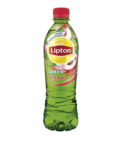 Ledový čaj Lipton s příchutí bílé broskve