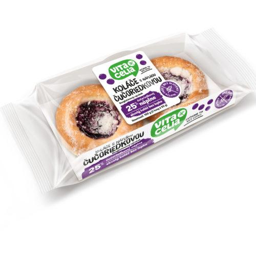 Bezlepkové koláče s borůvkovou náplní