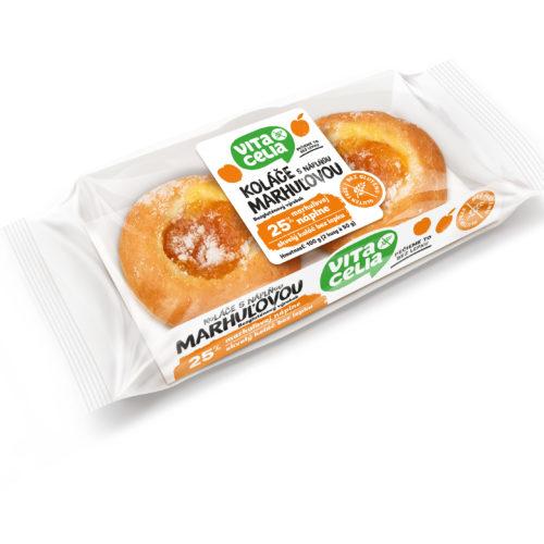 Bezlepkové koláče s meruňkovou náplní