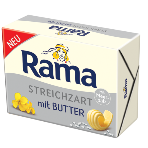 Rama kostka s máslem, 82% tuku