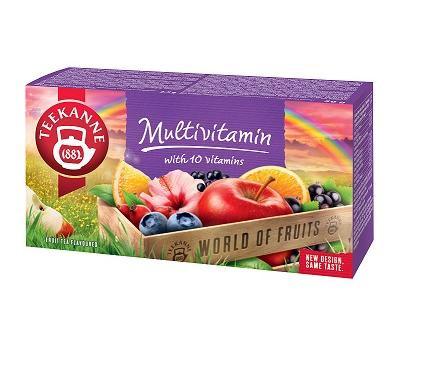 TEEKANNE Multivitamin – ovocný čaj se záplavou vitamínů
