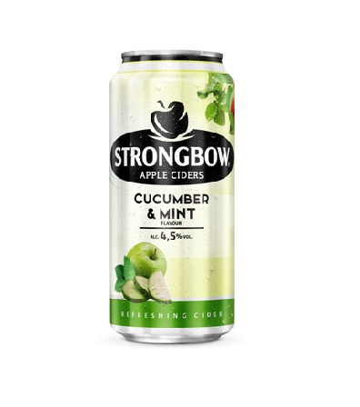 Strongbow Cucumber & Mint a Strongbow Citrus Edge