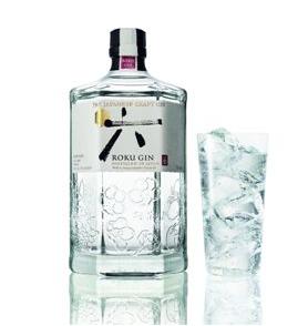 Prémiový gin značky Roku
