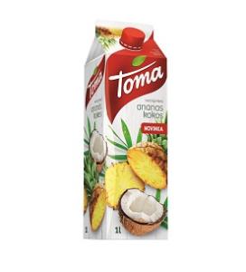 TOMA Ananas-kokos