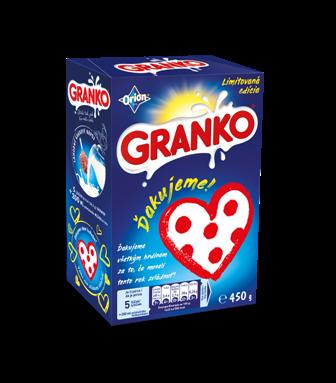 Limitovaná edice GRANKO Děkujeme!