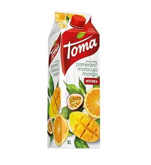 TOMA POMERANČ-MARACUJA-MANGO