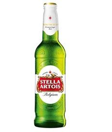 Stella Artois v nové lahvi