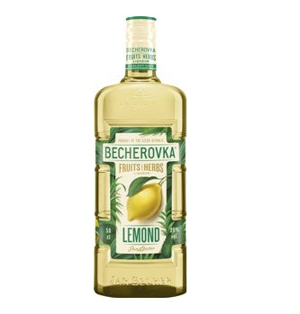 Becherovka Lemond v novém designu