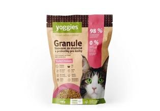 Yoggies granule pro kočky lisované za studena