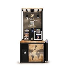 Samoobslužné kávové koutky Tchibo2Go