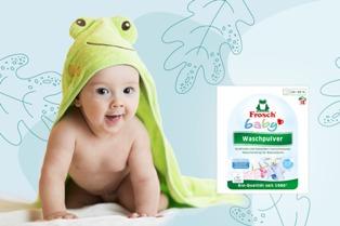 Frosch Baby Prací prášek na kojenecké prádlo