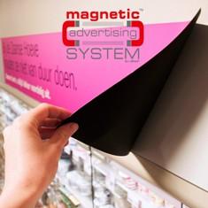 Magnetický reklamní systém Magnetic Advertising System (MAS)