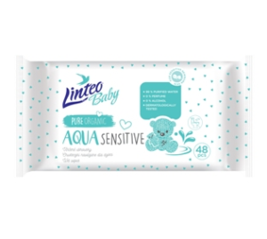 Vlhčené ubrousky LINTEO BABY AQUA a Linteo Baby Biodegradable