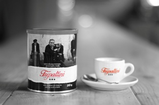 Italská káva Trepallini