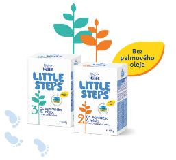 Nová kojenecká výživa LITTLE STEPS®