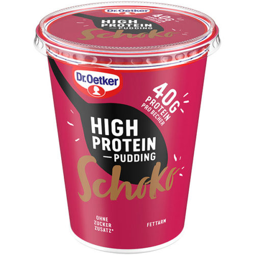 High Protein Pudding Schoko Dr. Oetker
