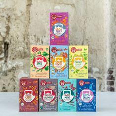 Ekologická řada čajů TEEKANNE Organics
