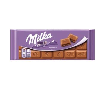 Milka Alpenmilch v limitované verzi.
