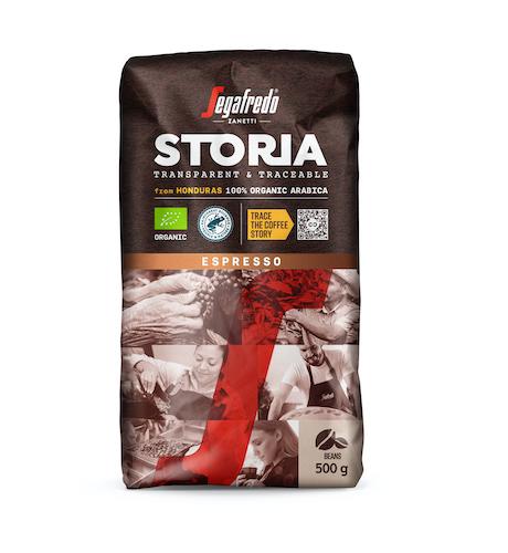 SEGAFREDO STORIA:  káva z Hondurasu